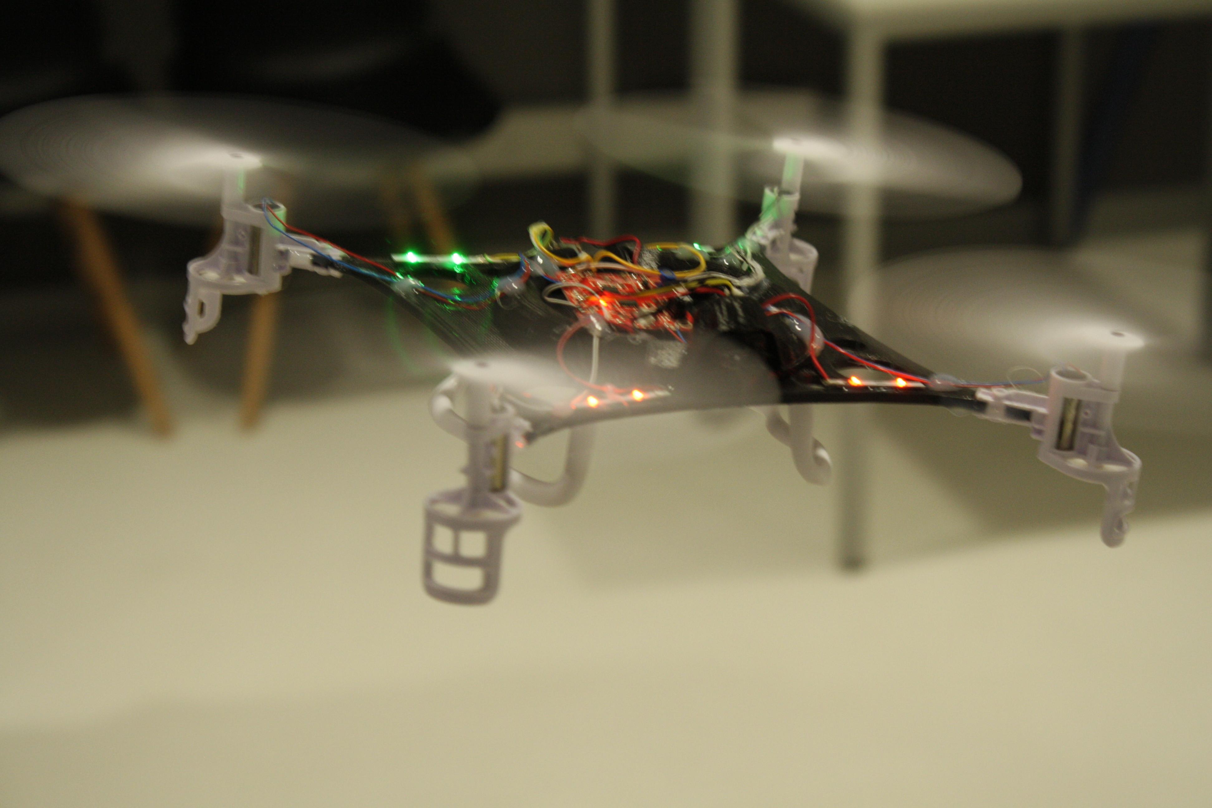 Pilotaje de drones en FabLab Sant Cugat