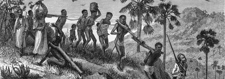 causes of poverty colonisation slave trade