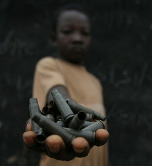 Child soldiers in Central African Republic