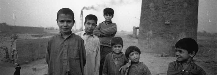 Child workers in Pakistan