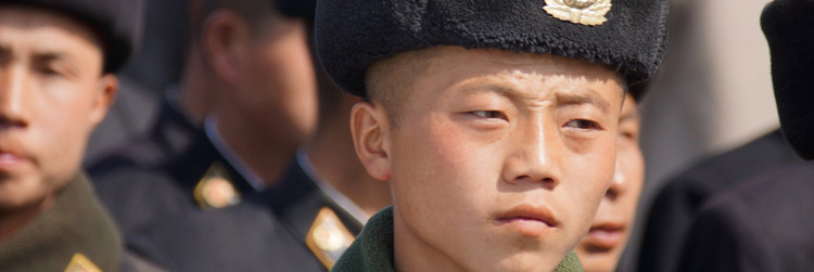 north korean soldier government policy army