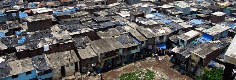 Indian slums, corruption and discrimination