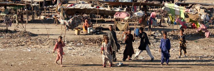 Urban poverty & slums in Pakistan