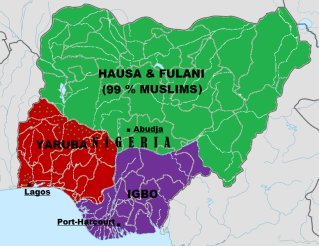 Ethnic map of Nigeria: a mirror of the distribution of poverty in the country