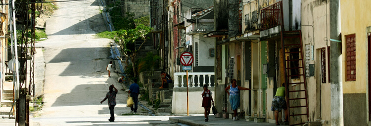 Urban poverty in Cuba