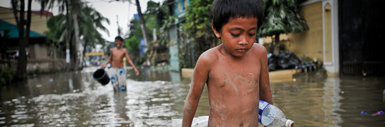Impact of climate change on the Philippine population
