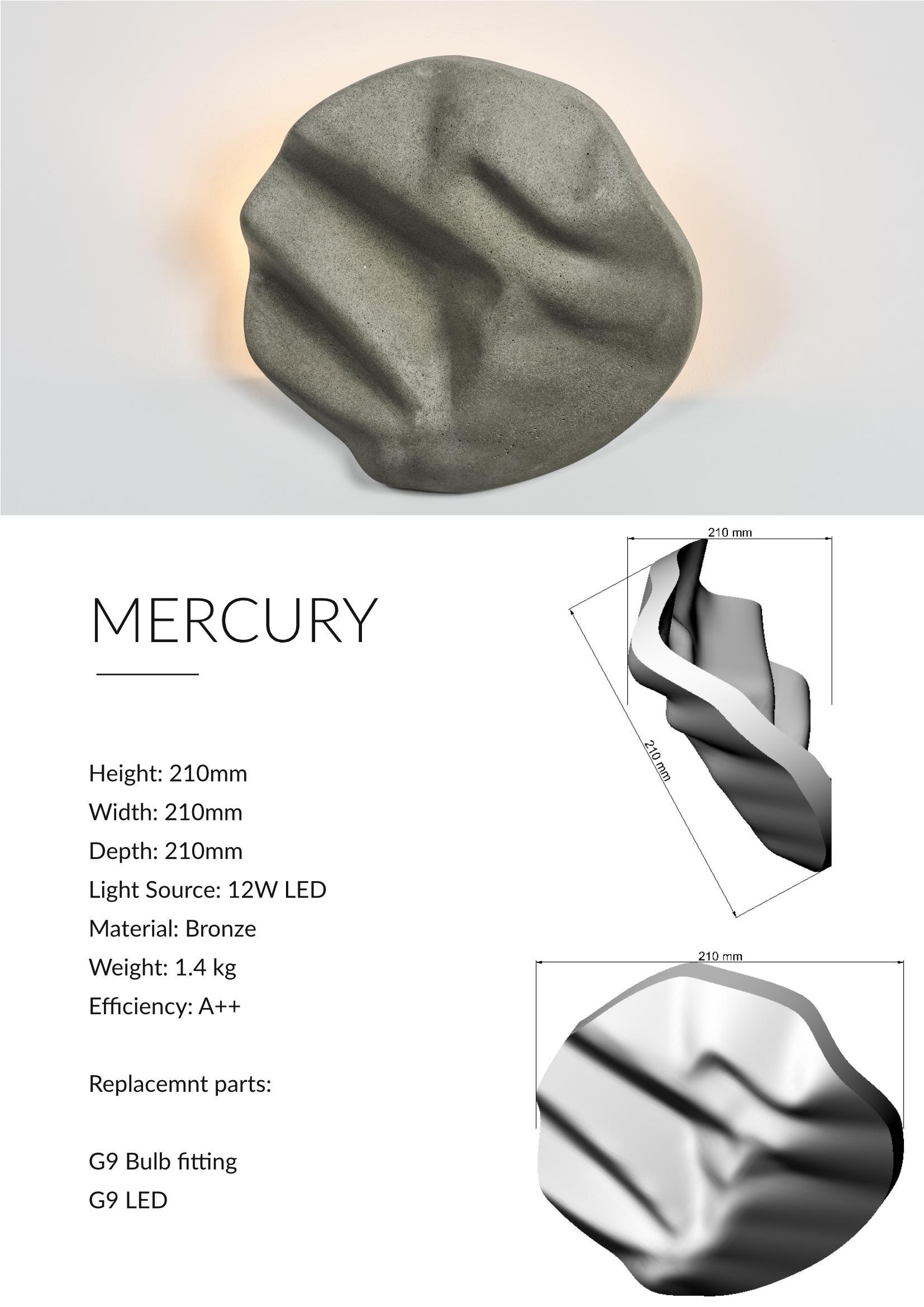 Mercury Contemporary Uplighter Design Technical Sheet