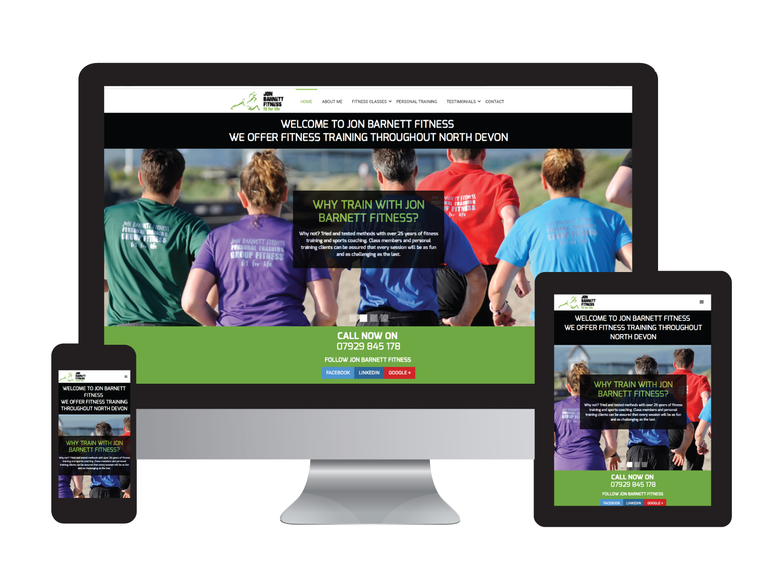 Jon Barnett Fitness - Design in the Shires | Web Design Worcestershire | Graphic Design Worcestershire | Website Designers Malvern, Worcestershire UK