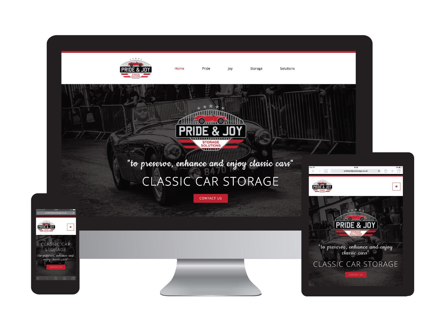 Pride & Joy Storage Solutions - Design in the Shires | Web Design Worcestershire & Herefordshire | Graphic Design Worcestershire & Herefordshire | e-Commerce Website Design | Website Designers Malvern, Worcestershire & Herefordshire | Design in the Shires