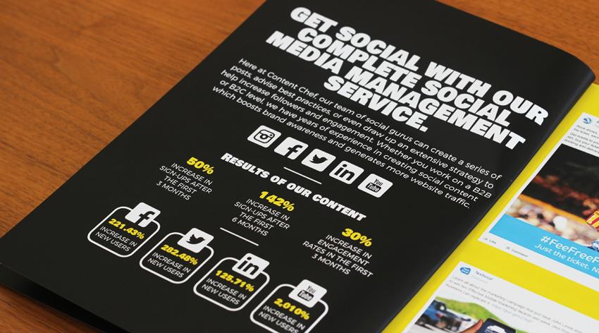 Content Chef - Graphic Design, Brochure Design, Malvern Worcestershire