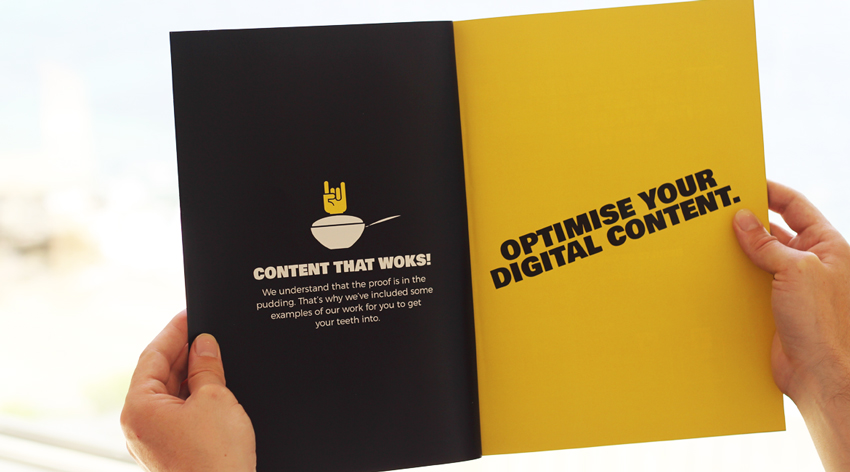 Content Chef - Graphic Design, Brochure Design, Malvern Worcestershire