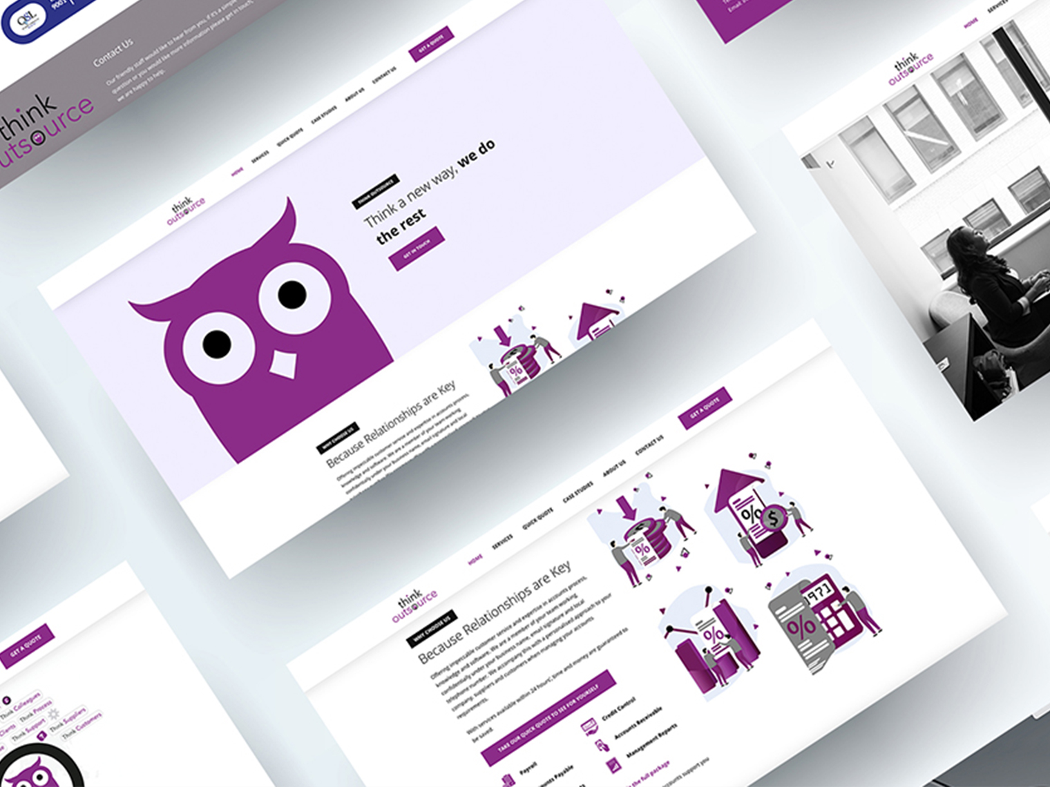 Think Outsource - Web Design Worcestershire & Herefordshire | Graphic Design Worcestershire & Herefordshire | e-Commerce Website Design | Website Designers Malvern, Worcestershire & Herefordshire | Design in the Shires