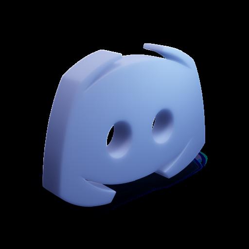 A 3D discord Icon