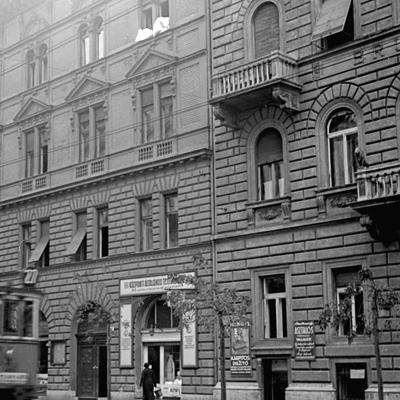 Régi fotók a házról, az utcáról és épületeiről