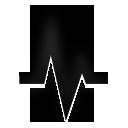 icon line graph
