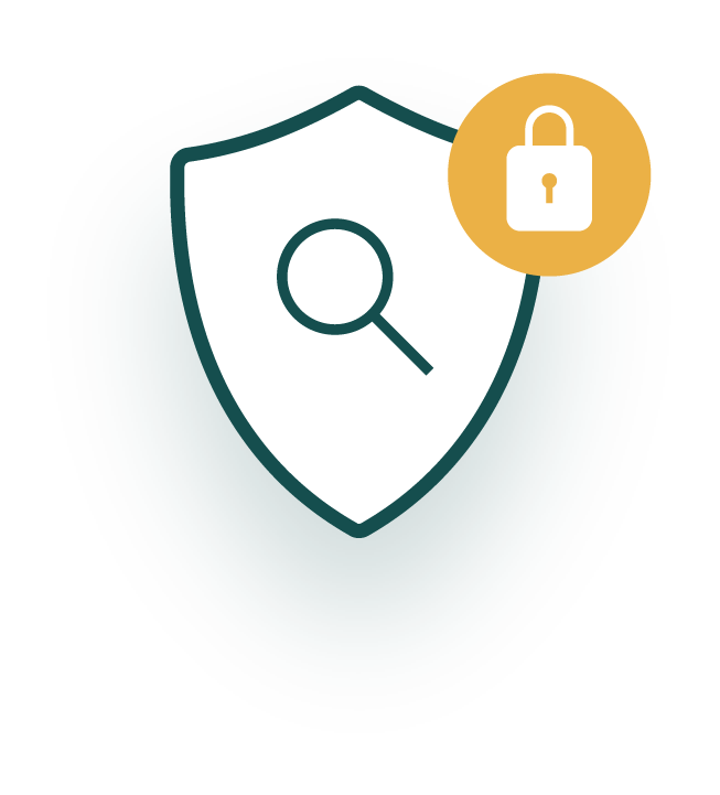 Security Monitoring Badge Icon