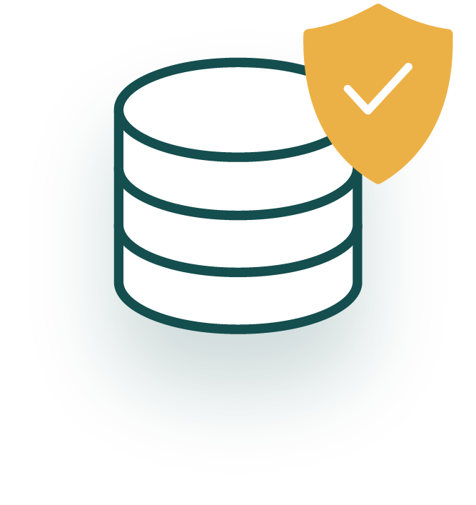 A product and data safeguards icon