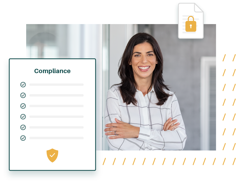 Illustration of a happy security professional using AuditDashboard
