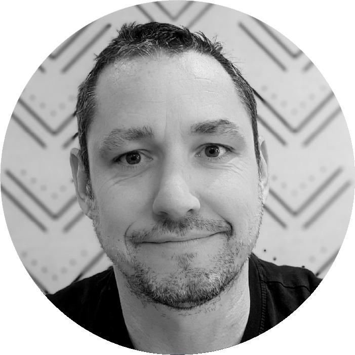 Headshot of Mike McKinnon, Vice President & Co-Founder