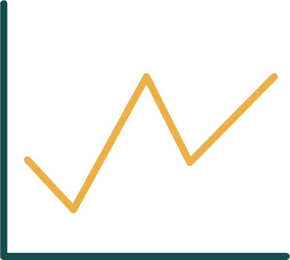An icon for the product feature firm insights and analytics
