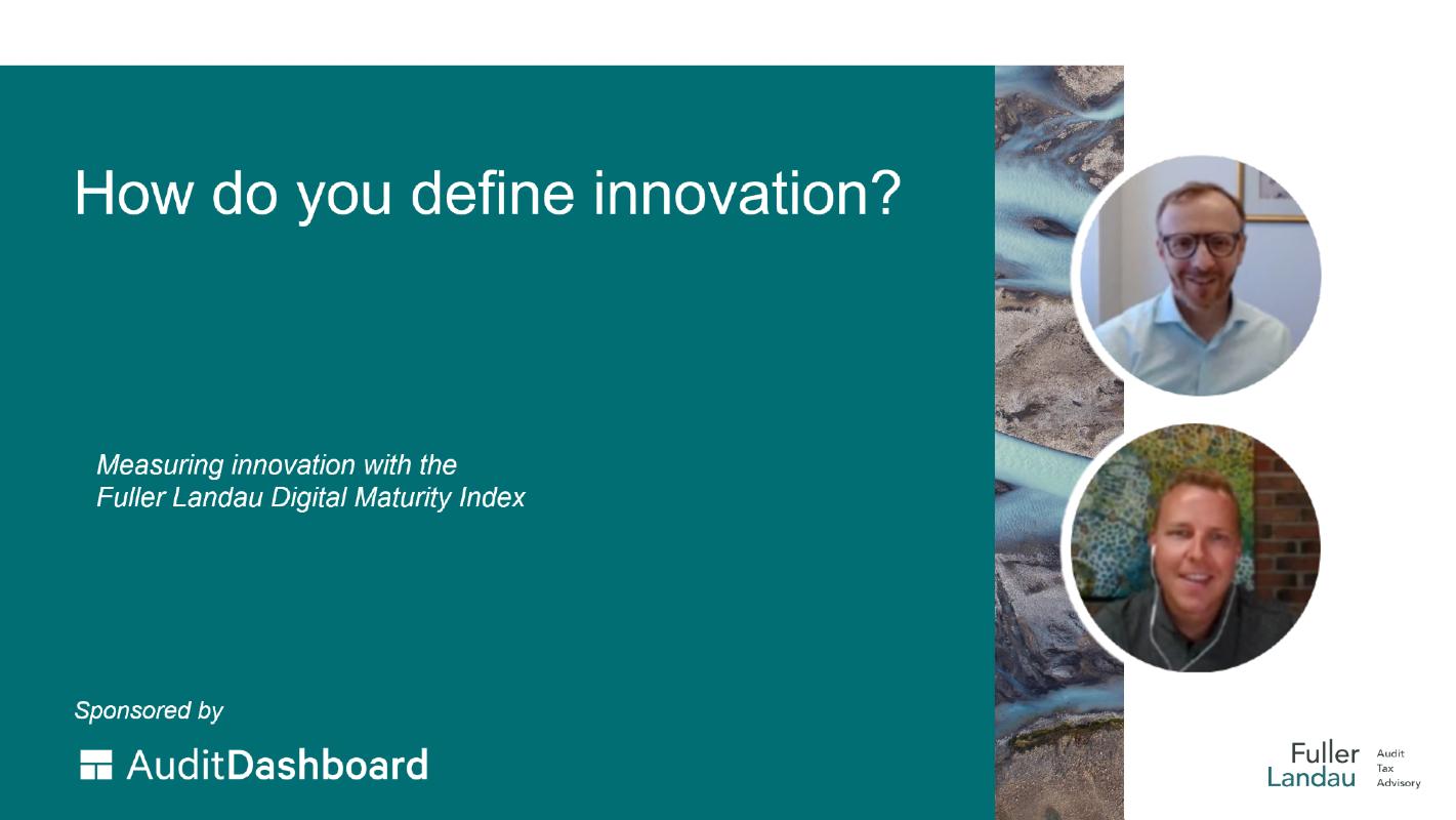 Video cover: How do you define innovation?