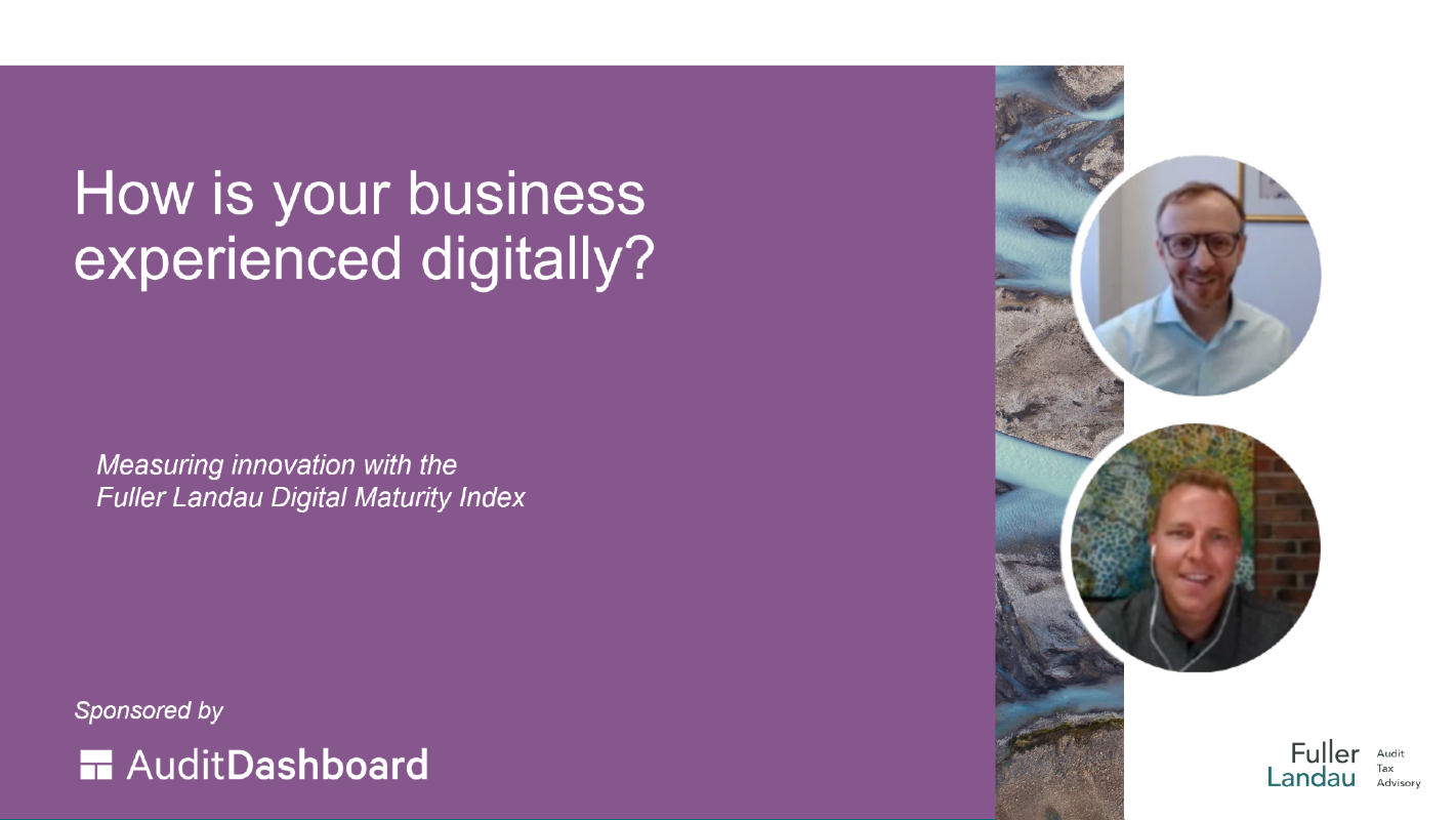 Video cover: How is your business experienced digitally?