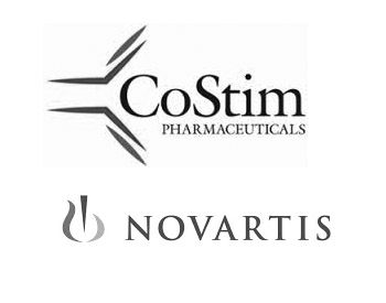 CoStim Logo and Novartis Logo