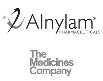 Alnylam Logo and Medicines Company Logo