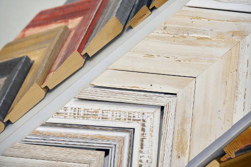 Rahmenauswahl vom FOTO-Atelier Wiesenberg