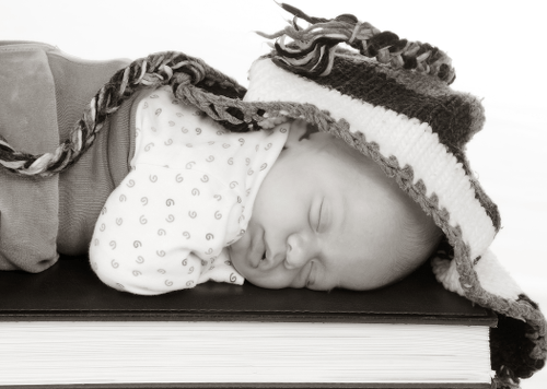 Babyfoto kreativ