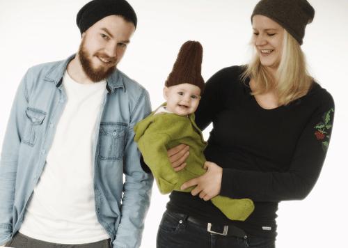 Schwangerschaftsfoto mit der ganzen Familie