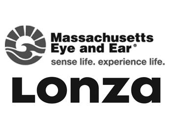 Massachusetts Eye and Ear Logo and Lonza Houston, Inc.Logo