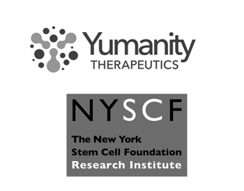 Yumanity Therapeutics Logo and New York Stem Cell Foundation Logo