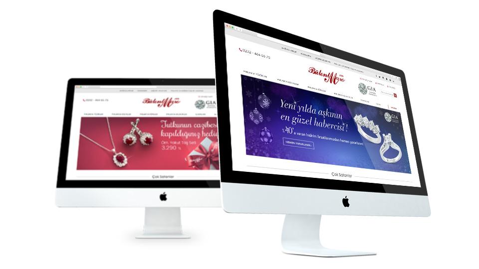 Jewelery Web design