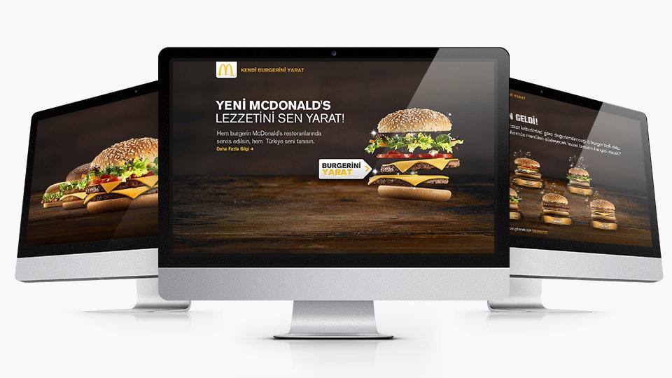 Kendi Burgerini Yarat Ekranlar