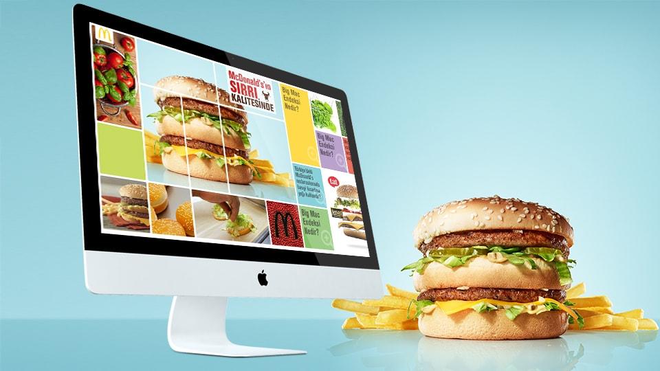 McDonalds Arayüz Tasarım