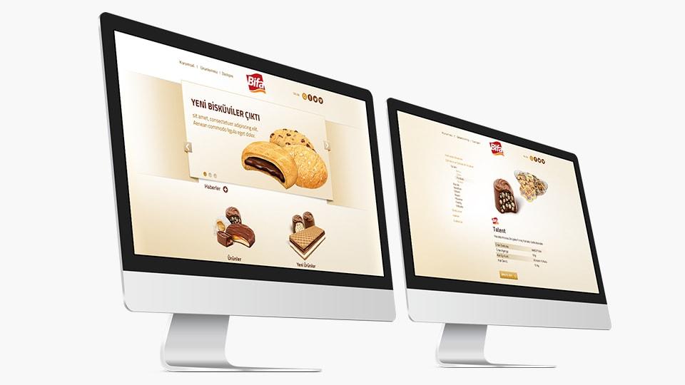 Bifa Bisküvi Web Tasarım