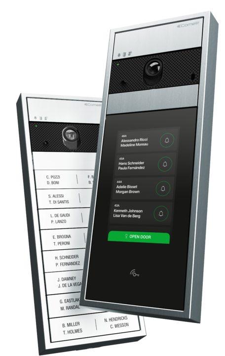 Comelit touchscreen intercoms