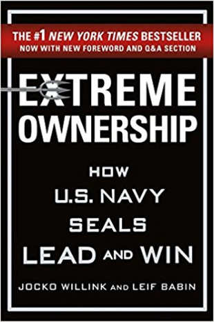 "Book Recommendation - ""Extreme Ownership"" by Jocko Willink and Leif Babin"