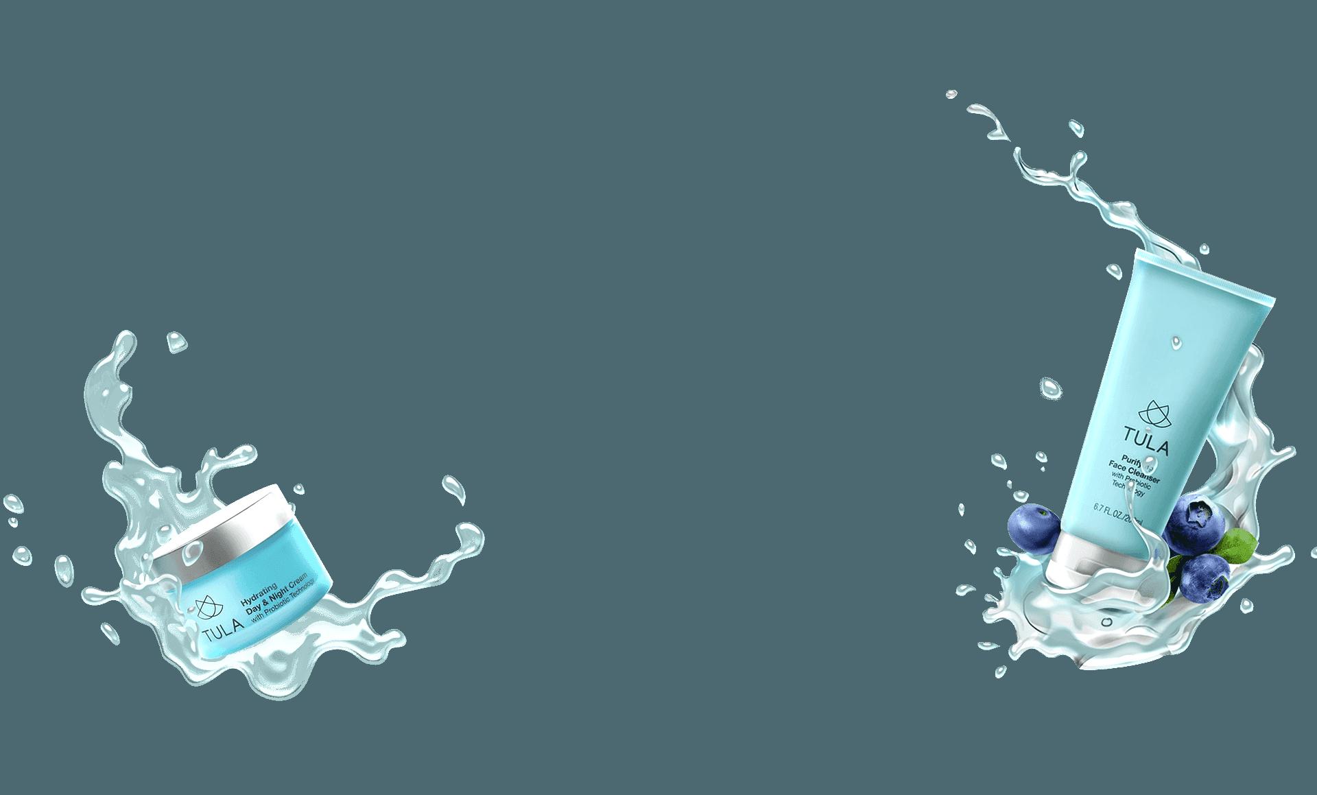 Tula Product Splashes