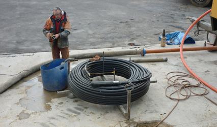 Water Well Drilling from Borrteknik Drilling Scotland