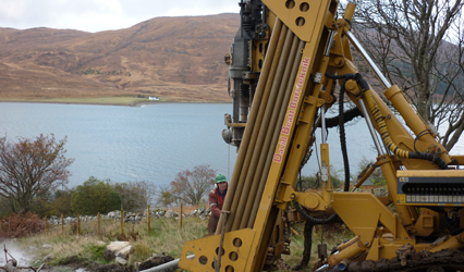 Borrteknik Borehole Drilling Scotland