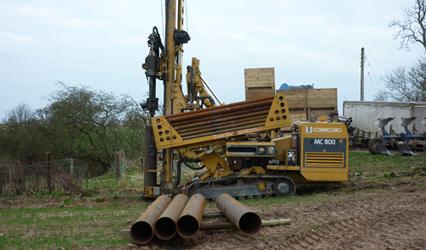 Borehole Contractors Scotland - Borrteknik Drillers