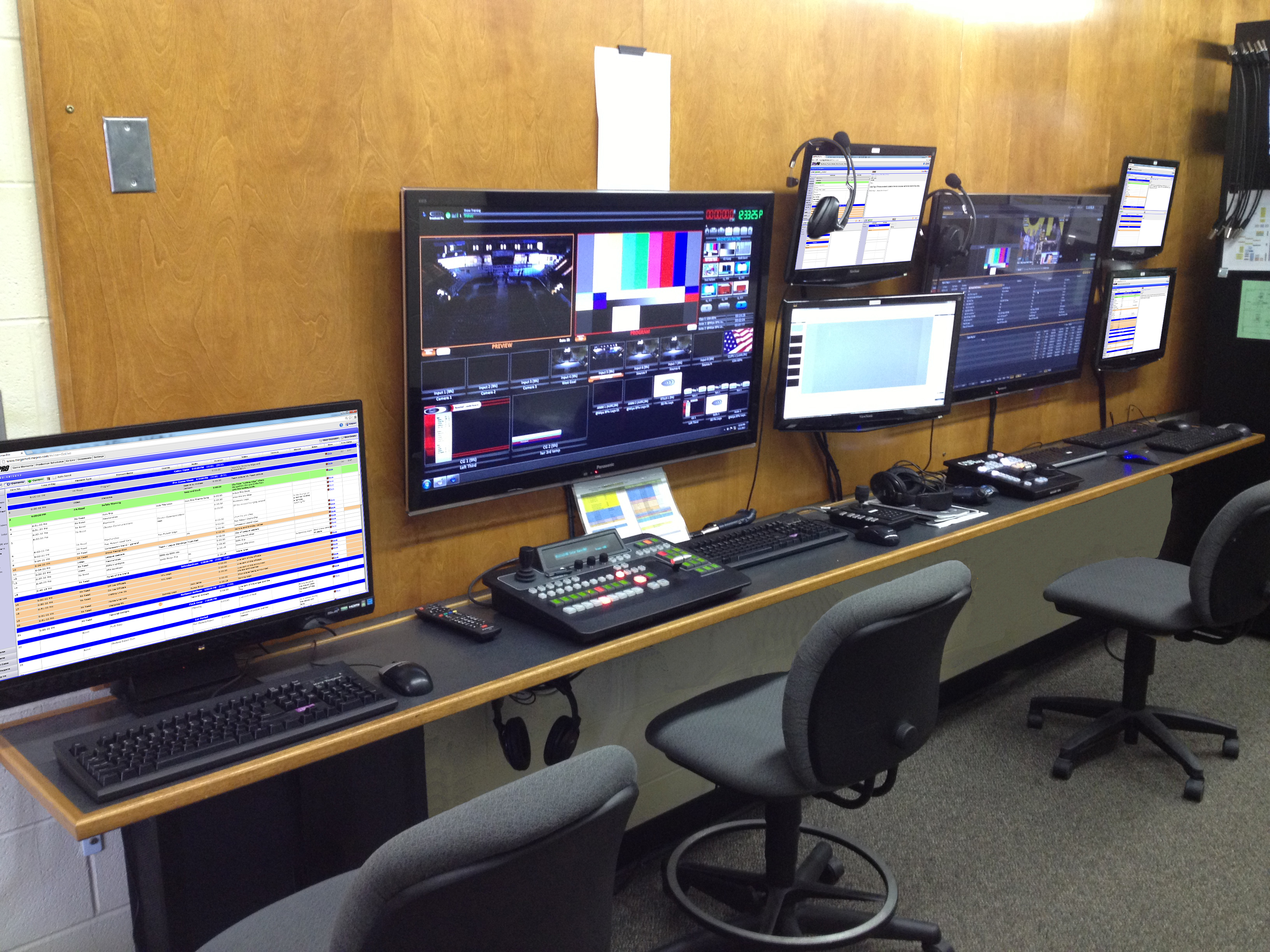 Visua Video Production Equipment