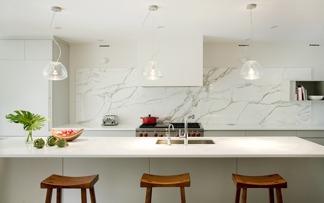 Boston Architects BUTZ + KLUG architecture, South End renovation Interior Kitchen