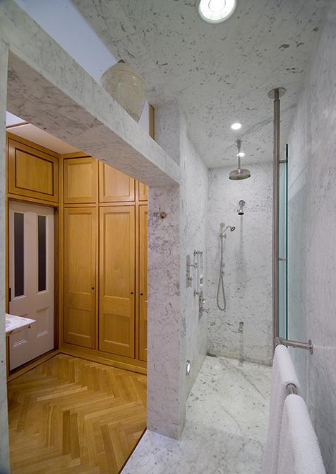 Boston Architects BUTZ + KLUG architecture Contemporary renovation addition Boston MA South End Bath