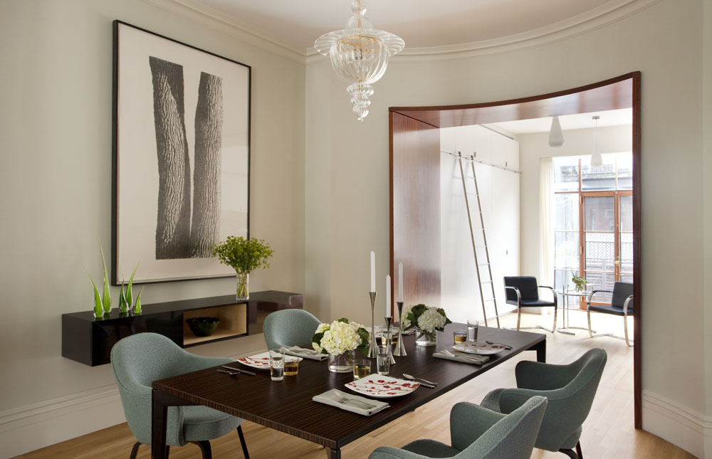 Dining Room, South End Rowhouse, Best of Boston Dining Room