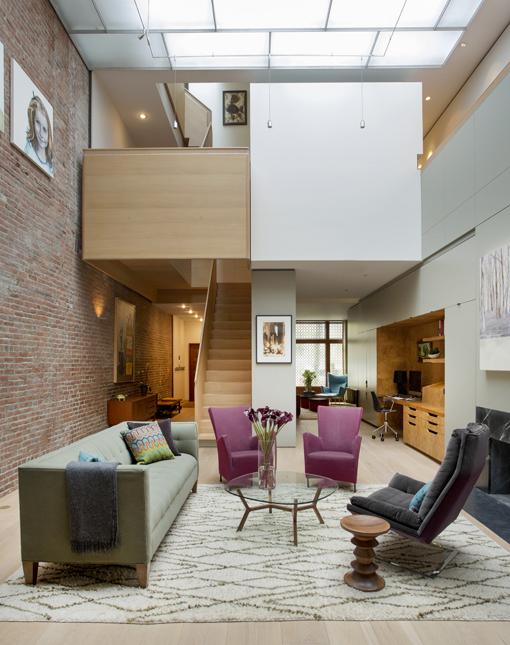 Boston Architects BUTZ + KLUG architecture Beacon Hill Atrium