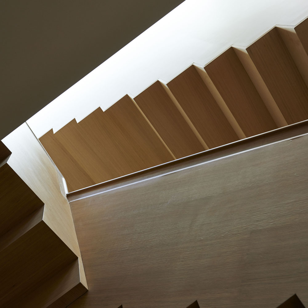 Boston Architects BUTZ + KLUG architecture Beacon Hill Stair
