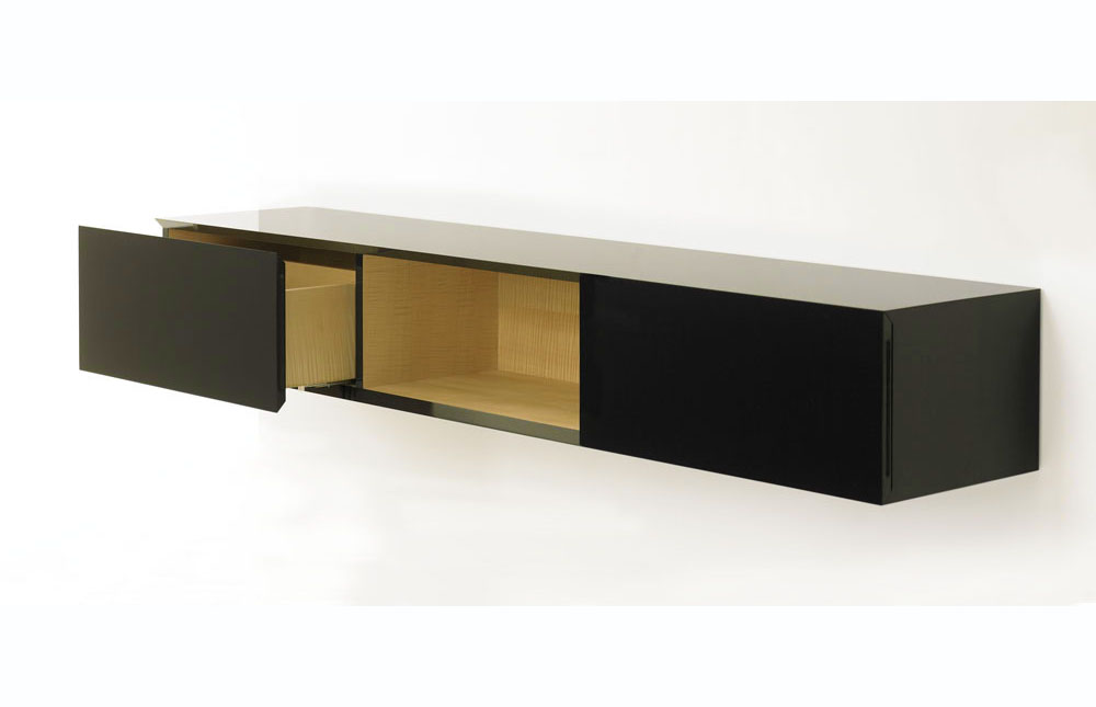 BUTZ + KLUG Architecture, custom furniture, contemporary sideboard, silk wood